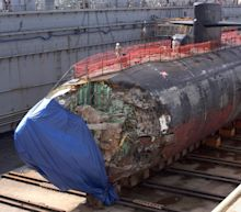 This Is What Happens When a U.S. Navy Attack Submarine Crashes Into a 'Mountain'
