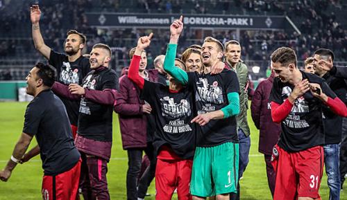 DFB Pokal: Frankfurt könnte als Verlierer Quali-Platz gewinnen