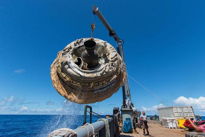 The Big Picture: Recovering NASA's flying saucer
