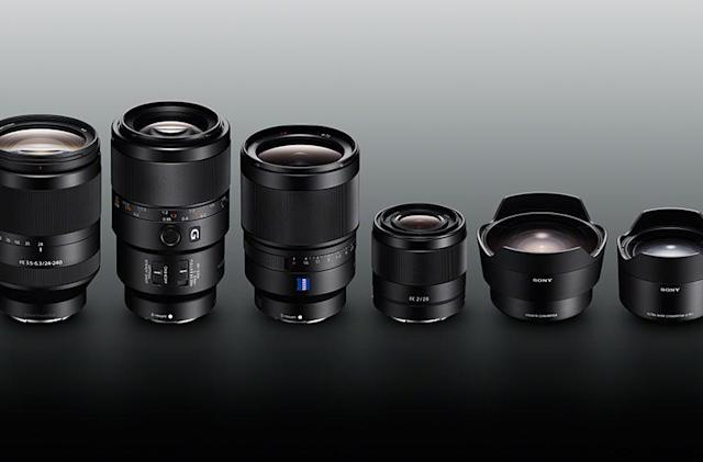 Sony unveils four much-needed lenses for the full-frame A7-II camera