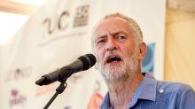 Public support for Jeremy Corbyn falls following wreath-laying row