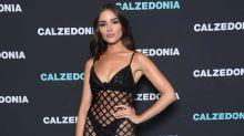 Olivia Culpo ultra sexy en vestido de malla