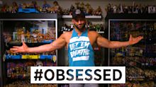 Inside WWE star Zack Ryder's million-dollar toy collection