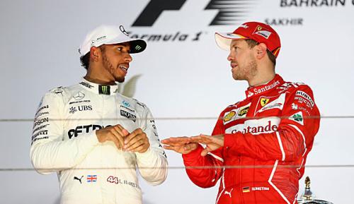 Formel 1: Warten auf den Zweikampf - Vettel vs. Hamilton bislang ein Fernduell