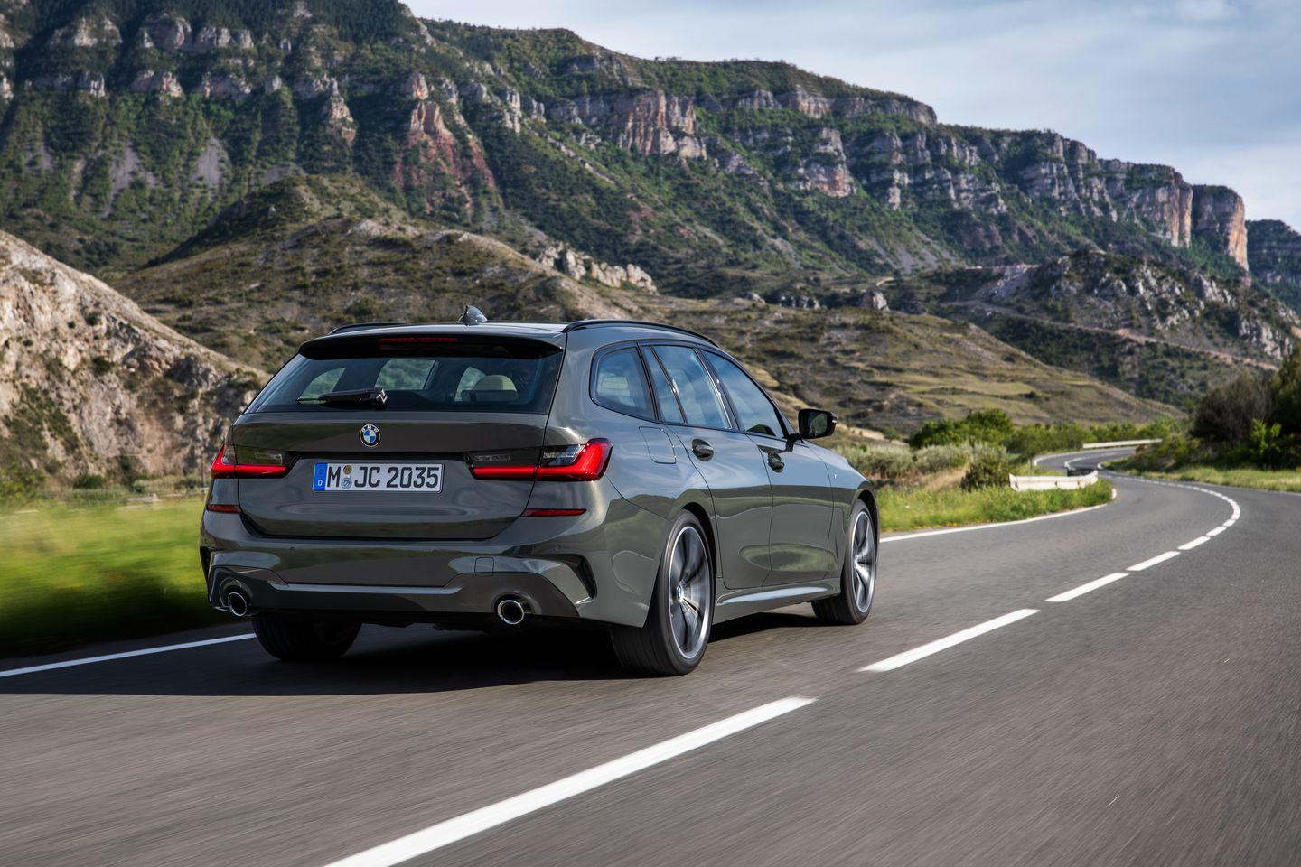 Photos Of The 2020 Bmw 3 Series Wagon