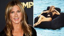 Jennifer Aniston, 50, rocks jaw-dropping bikini look for Harper's Bazaar cover