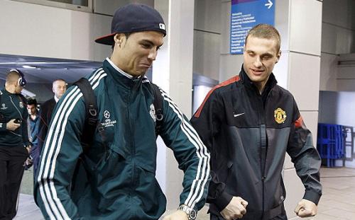 Vidic: Ronaldo und ich spornten uns gegenseitig an