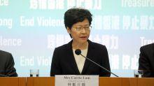 Hong Kong Stocks Drop Most in Asia as Lam Bans Mask Wearing