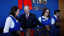 Metro Bank reports third-quarter loss, deposit outflows as Chairman exits