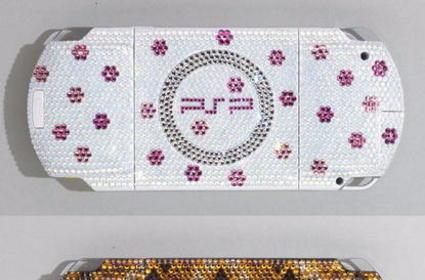 Have too much money? Cover your PSP in jewels