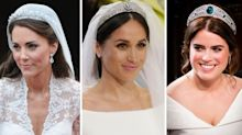 The cost of Meghan Markle, Kate Middleton and Princess Eugenie's wedding tiaras revealed
