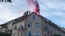 Flaschen und Pyrotechnik: Linken-Demo nach Gewalt beendet - Randale in Prenzlauer Berg