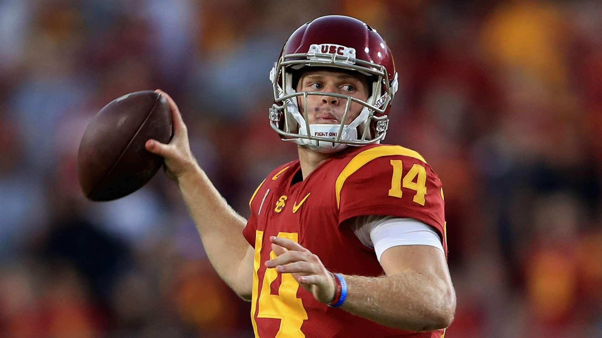 Usc Qb Sam Darnold Says He S Not Ducking The Browns In Nfl Draft