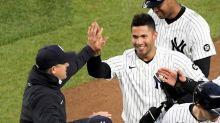 Torres lifts Yanks over Scherzer, Nats in 11th inning