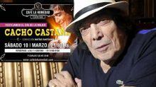 Polémica: Cacho Castaña regresa a los escenarios ¡para homenajear a las mujeres!