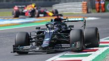 Lewis Hamilton tops second practice as Mercedes dominate field again in Italy