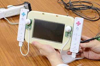 Nintendo's Wii U GamePad prototype revealed: Two Wii remotes, a display and some tape