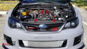「硬皮鯊」極惡版!Subaru Impreza STI「牛王心」直六缸異種移植