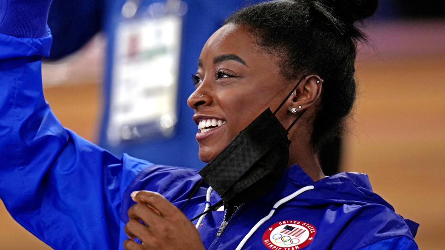 Biles brings spotlight to adoption and fostering