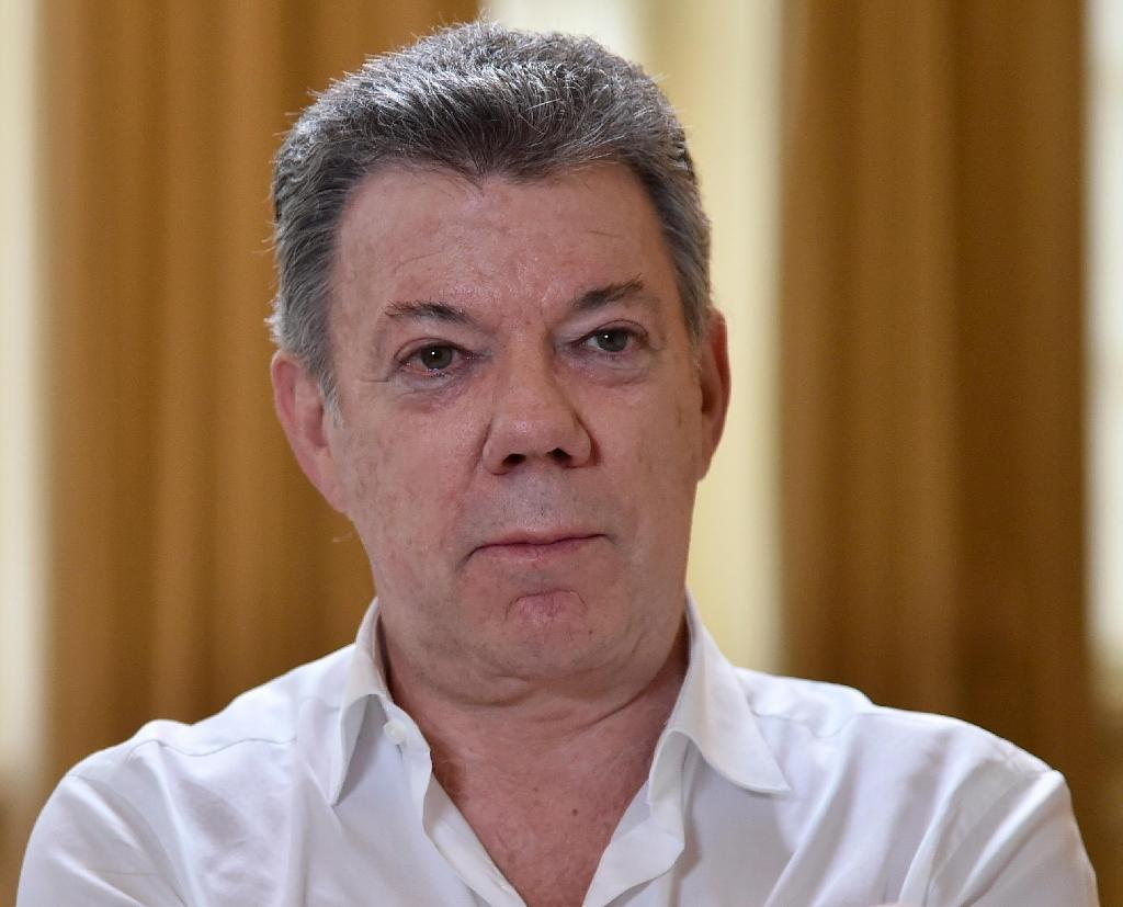 Colombia President Juan Manuel Santos came to power in 2010 (AFP Photo/Guillermo Legaria)
