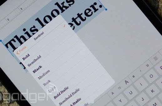 You can now spice up those iPad docs with Hoefler & Co. fonts