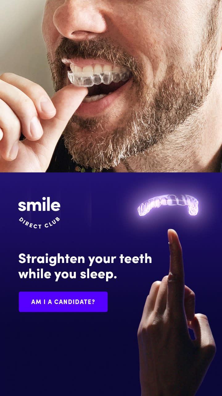 Straighten your teeth while you sleep