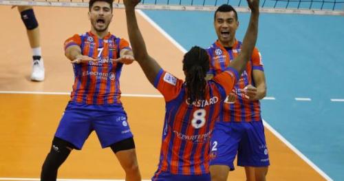 Volley - Ligue A (H) - Ligue A : Ajaccio élimine Paris, champion sortant, en quarts
