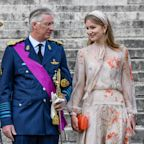 All the Photos of King Philippe, Queen Mathilde, and More Royals at Belgian National Day
