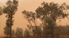 Dust Blankets Charleville Sky