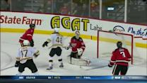 David Krejci redirects one on the power play
