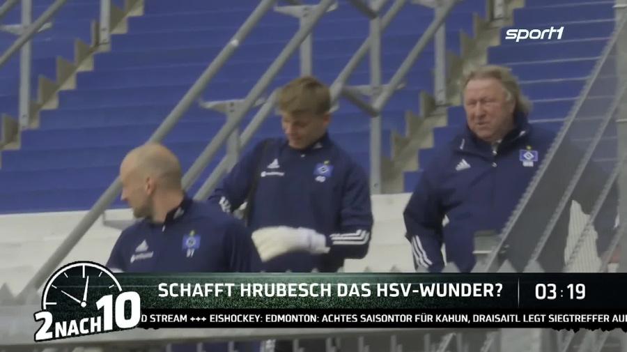 2 nach 10: Führt Horst Hrubesch den HSV zum Aufstieg aus der 2. Bundesliga?
