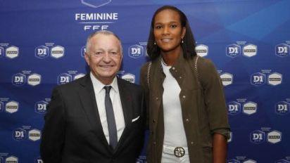 Foot - Lyon (F) - Jean-Michel Aulas et Wendie Renard parmi les personnalités qui font le plus avancer le foot féminin