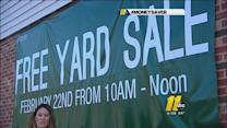Money Saver: Free yard sale