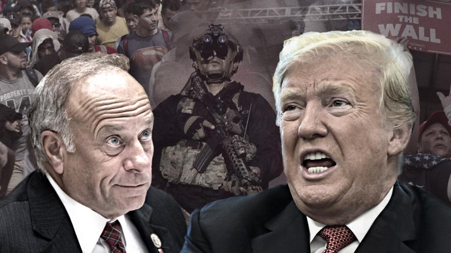 Trump, GOP stoke caravan conspiracy theories