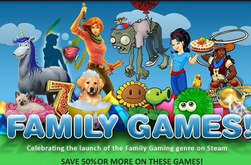 Steam deals: Up to 50% off family-friendly titles