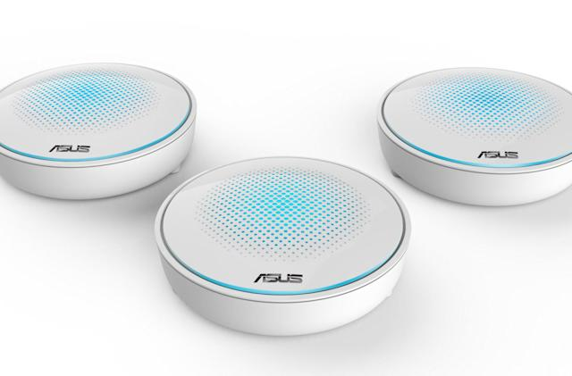 ASUS finally has mesh routers of its own