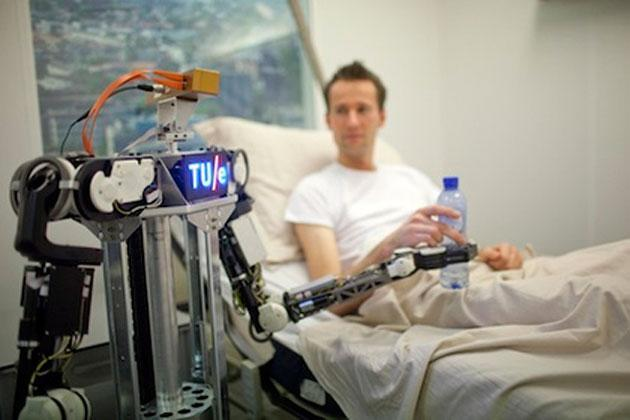 European researchers have created a hive mind for robots and it's being demoed this week