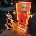 Forget The Tricks, Reese's Brand Brings The Treats With Robotic Halloween Door