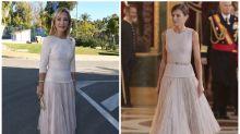Carmen Lomana le copia el look a la reina Letizia tras haber criticado su estilo