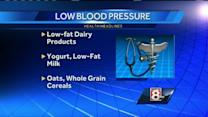 Certain foods can help help lower blood pressure
