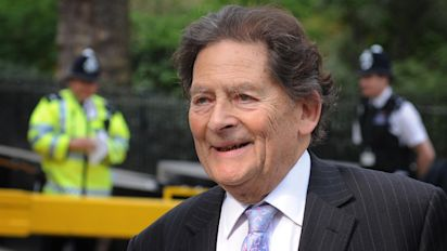 Tory Brexiteer Lord Lawson Tells Theresa May To Get Off Her 'Knees' And Stop 'Begging' Brussels For A Good Deal