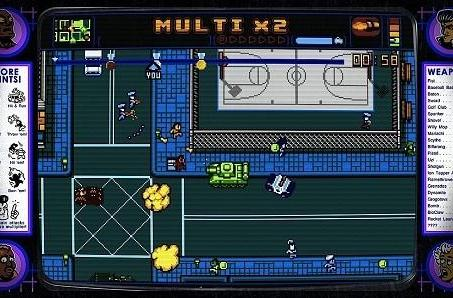 Retro City Rampage starts trouble on XBLA Jan. 2