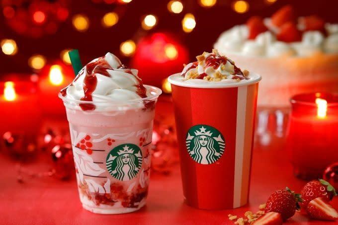 2018Starbucks聖誕系列飲品