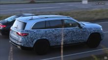 2020 Mercedes-Maybach GLS spied standing out in German traffic