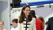 Hello Sailor! Duchess Of Cambridge Channels A Nautical Look On Solo Visit To Sailing Charity