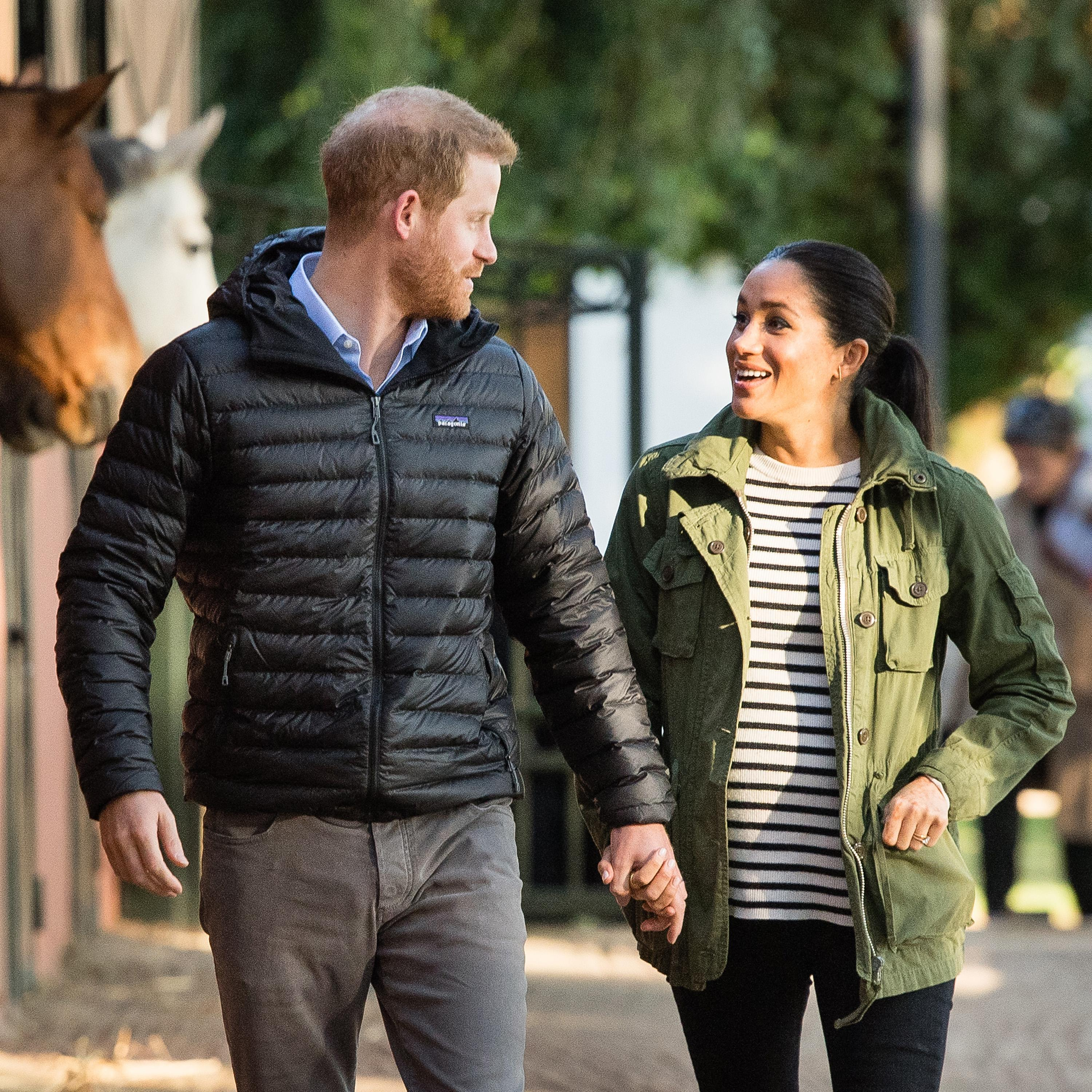 Prince Harry Legit Just Asked Meghan Markle If Her Baby
