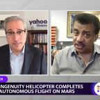 Neil DeGrasse Tyson: Mars Ingenuity's successful flight a 'bad—s accomplishment'