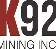 K92 Mining Inc. to Announce Third Quarter 2020 Financial Results on November 16, 2020: Conference Call Details