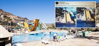 Family's holiday lie caught out in Facebook photo