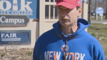 College groundskeeper claims school violated his rights by telling him not to wear MAGA hat